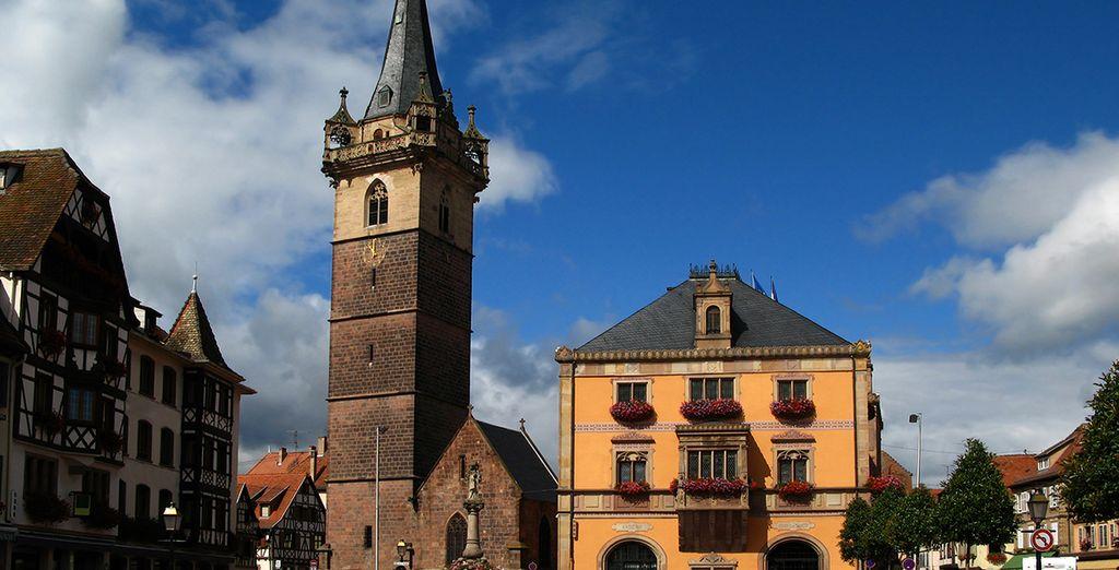 Cette charmante ville vous accueille pour un séjour placé sous le signe de la détente et des sorties culturelles...