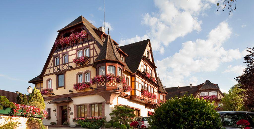 Bienvenue à Obernai, au sein de l'Hôtel Du Parc 4*