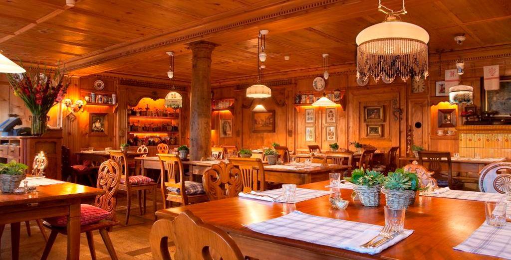 Et aurez tout le loisir de découvrir la richesse de la gastronomie alsacienne
