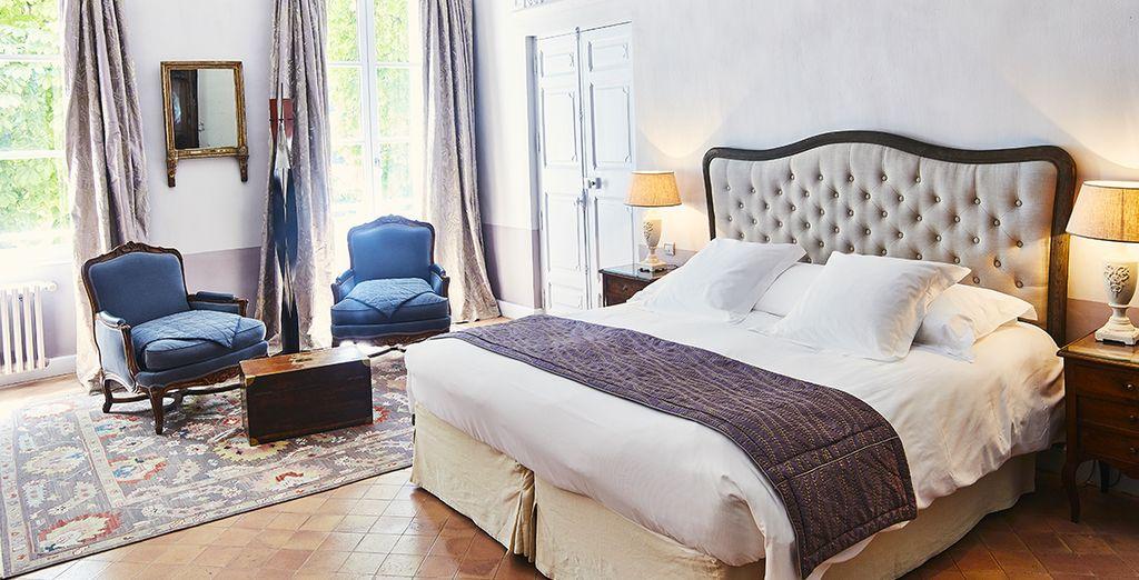 Posez vos valises en Junior Suite spacieuse et agréable