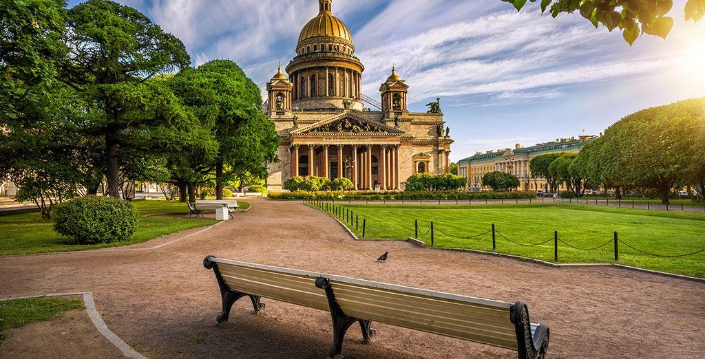La cité des Tsars vous en mettra plein les yeux !