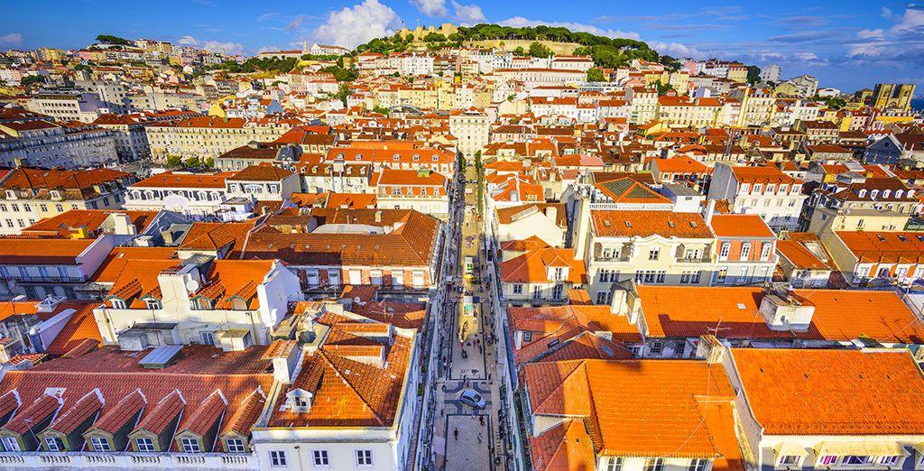 Et découvrez Lisbonne depuis le ciel