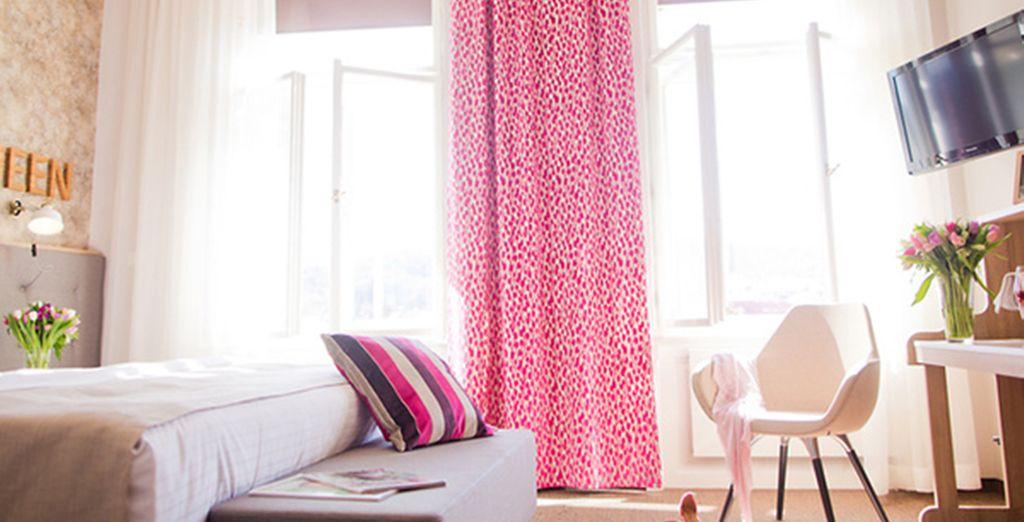 Retrouvez vite votre chambre Deluxe, spacieuse et lumineuse