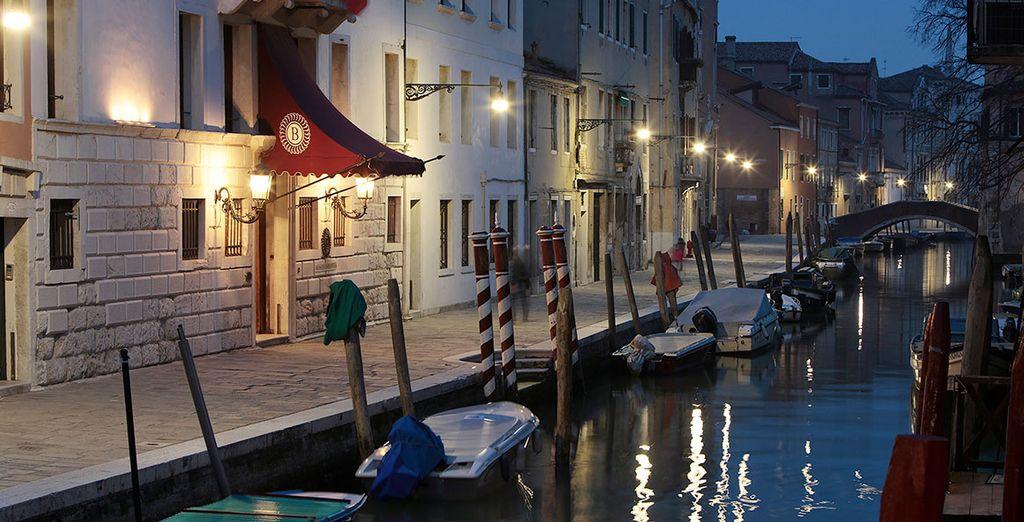 De l'hôtel Boscolo Venezia Autograph Collection 5*