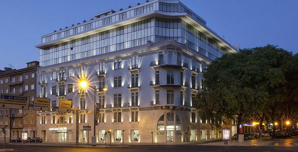 Rendez-vous à l'hôtel Jupiter Lisboa