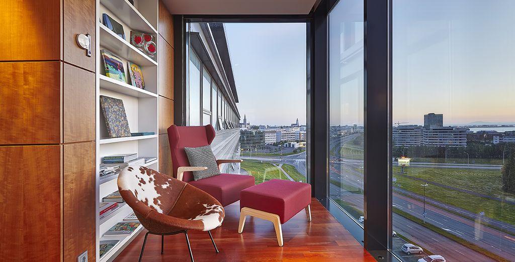 Au coeur de la capitale, vous découvrirez l'hôtel Hilton Nordica