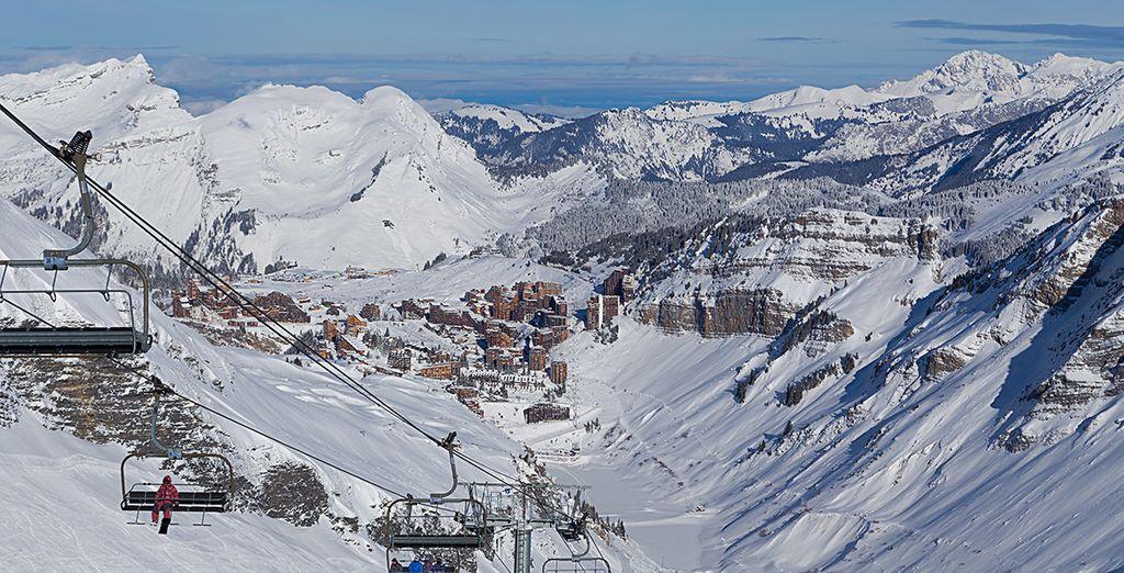 Bon séjour au ski !