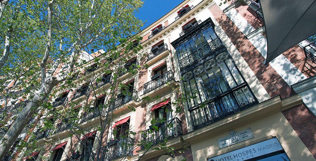 H tel hospes puerta de alcala 5 voyage priv jusqu 39 70 - Hotel hospes puerta de alcala ...