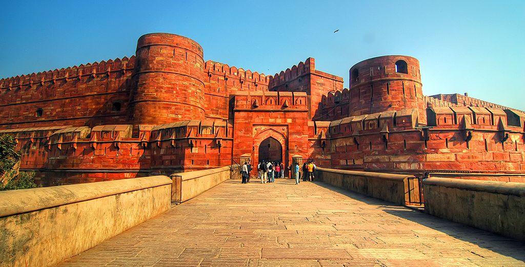 Agra, inscrit à l'UNESCO...