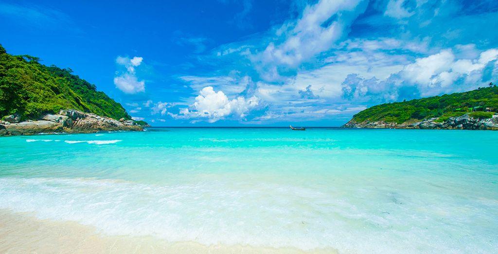 Une fois rassasié, prenez la direction des plages paradisiaques