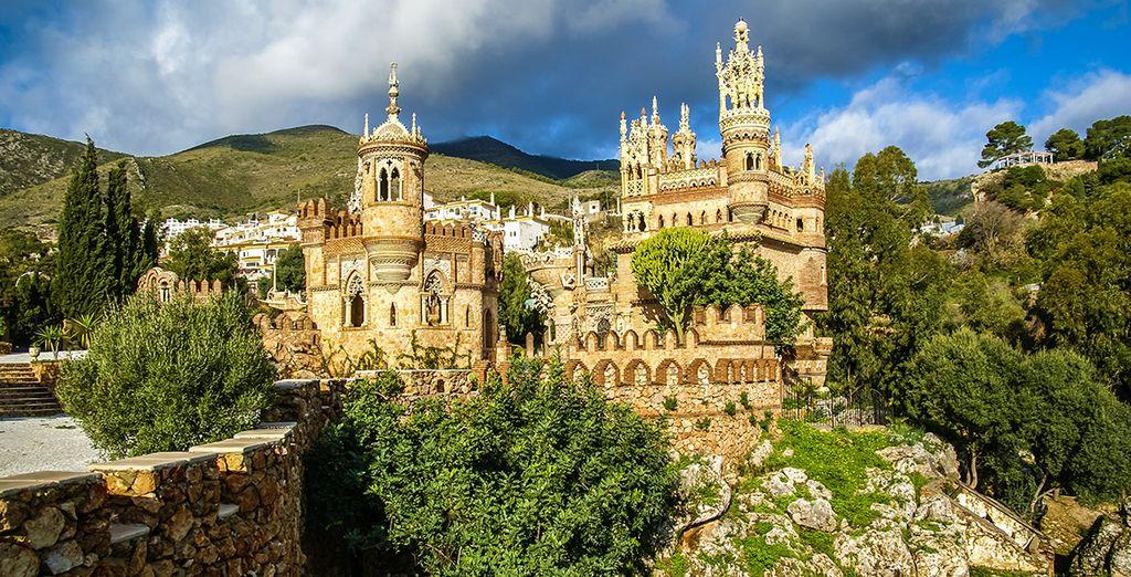 Partez explorer le château de Colomares