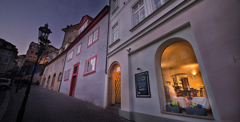 Arrêtez vous au Prague Chocolate Cafe & Bistro