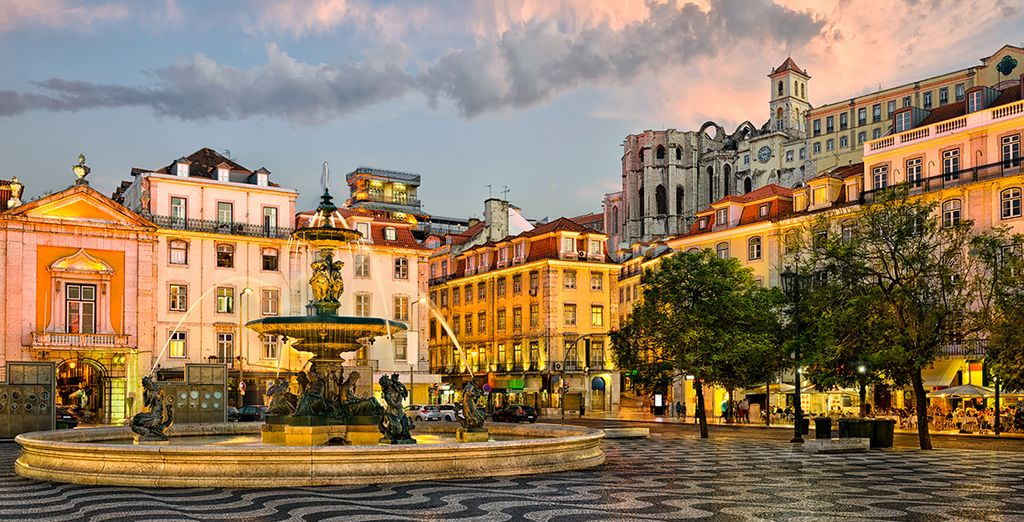 Et les heures de flâneries dans le dédale des ruelles du vieux Lisbonne