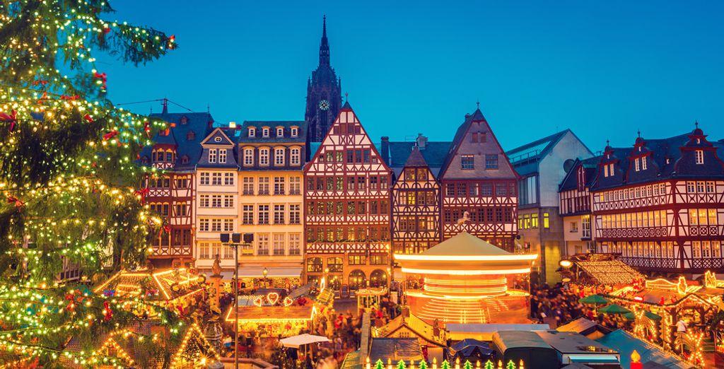 Envie d'une échappée citadine pour découvrir les marchés de Noël à Francfort ?