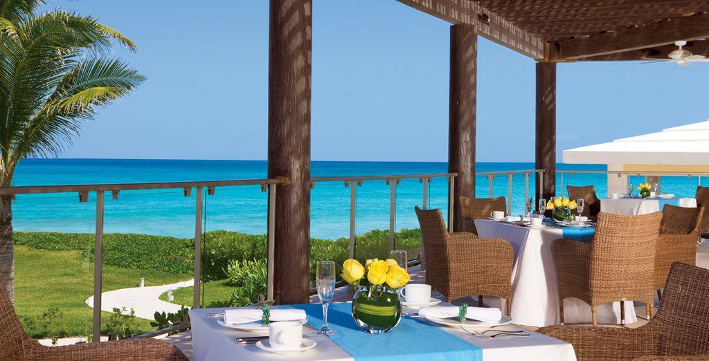 Du déjeuner en terrasse...