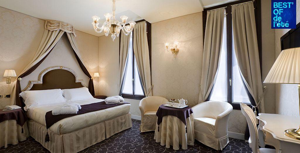 Goûtez au luxe et au romantisme d'un séjour à Venise !