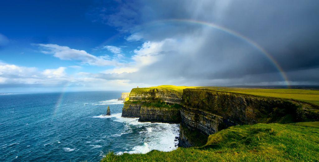 Vous allez découvrir des paysages magnifiques...