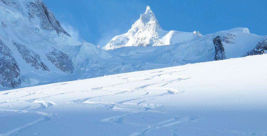 Partez ensuite dévaler les pistes de Chamonix Mont-Blanc