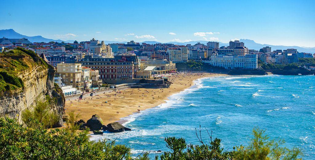 Profitez de votre escapade pour visiter la côte basque et Biarritz