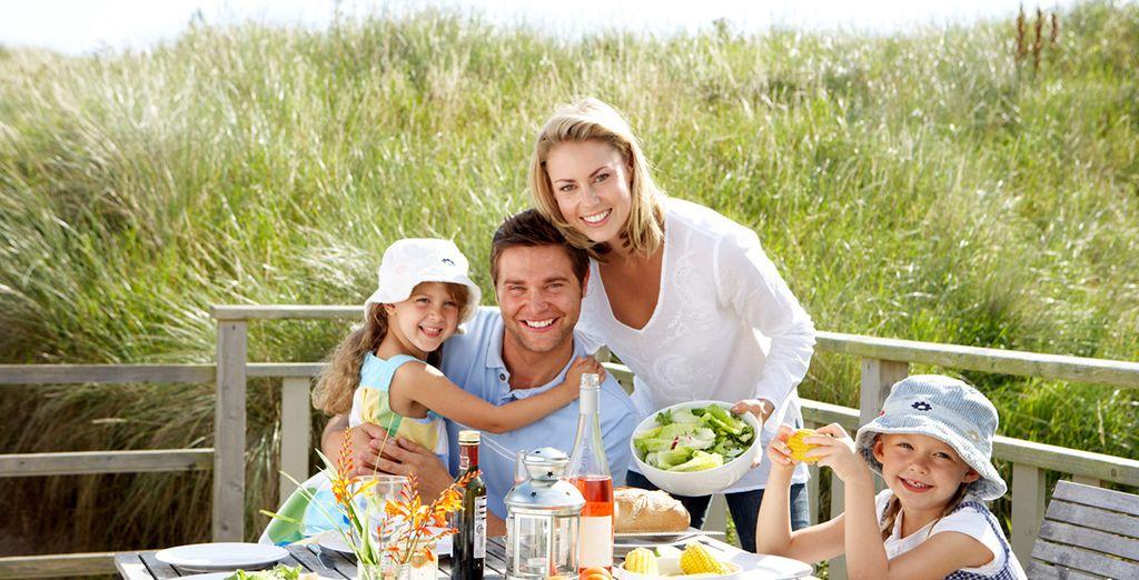 Profitez de votre formule tout inclus pour faire plaisir à toute la famille !