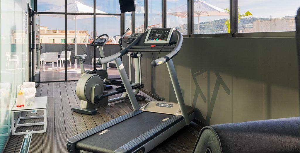 Entretenez votre forme à la salle de fitness...
