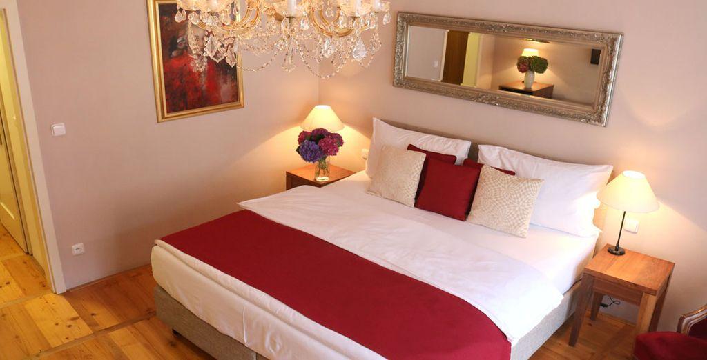 Une confortable chambre Deluxe vous attend...