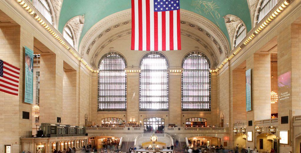 Avec un accès direct sur la mythique Grand Central Station