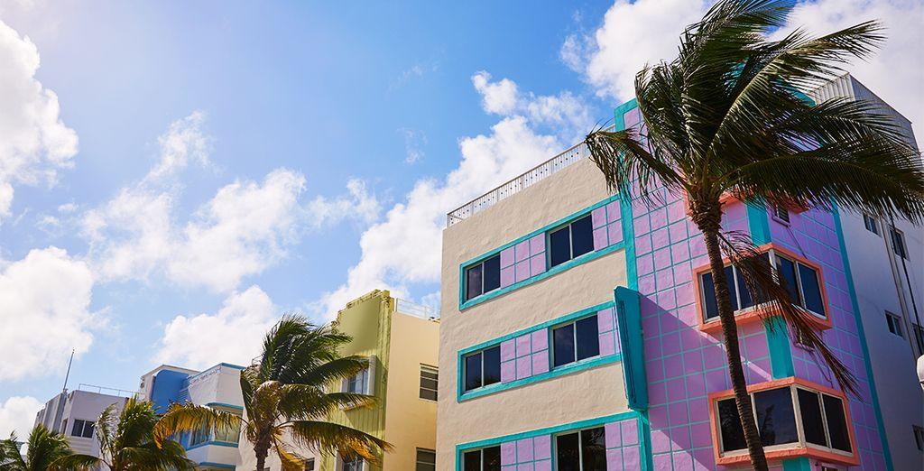 Admirez l'architecture Art Deco originale et emblématique