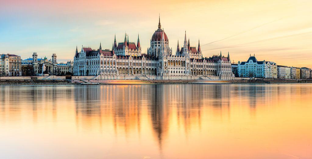 Dans la belle ville de Budapest
