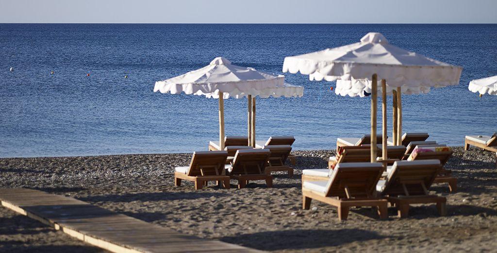 Profitez du soleil grec