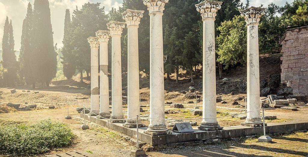 Comme le site archéologique d'Asclepion