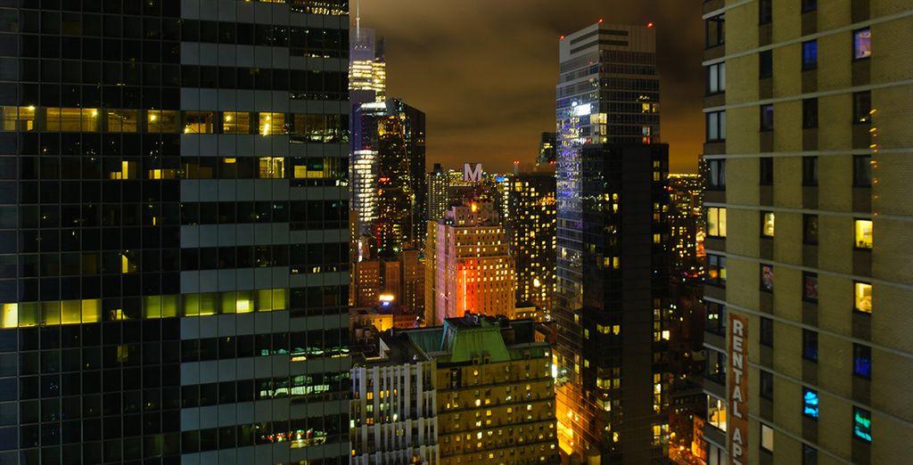 Appréciez les vues sur la ville