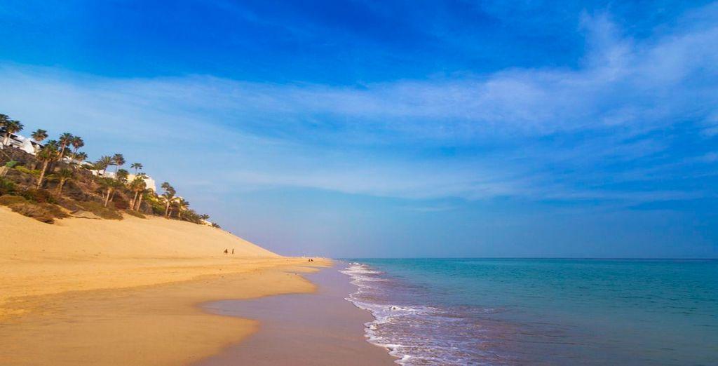 Mais aussi à sa beauté comme sur ses plages à l'eau cristalline