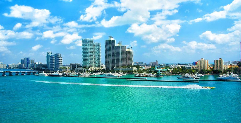 Photographie de l'Etat de la Floride et de la ville de Miami