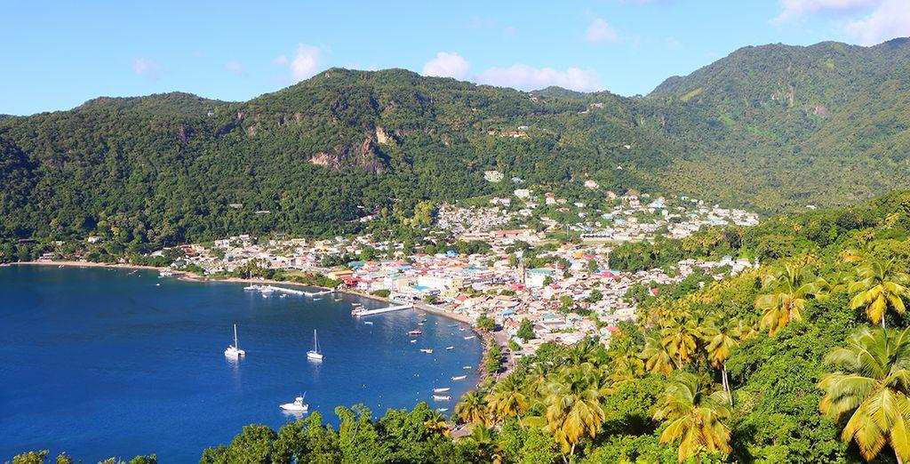Paysage de la Martinique