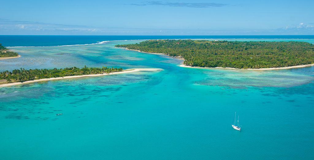 Photographie de Madagascar et des îles qui l'entoure comme Mayotte