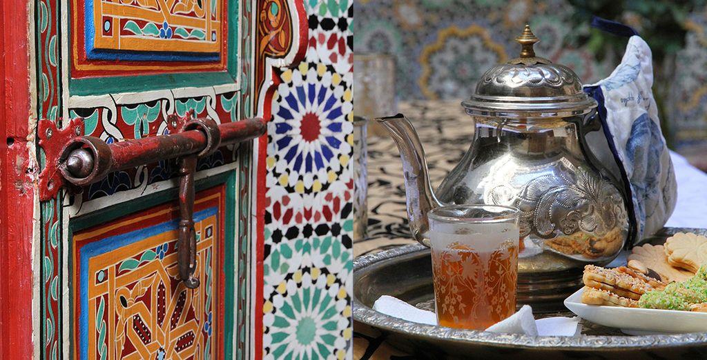 Le thé marocain traditionnel