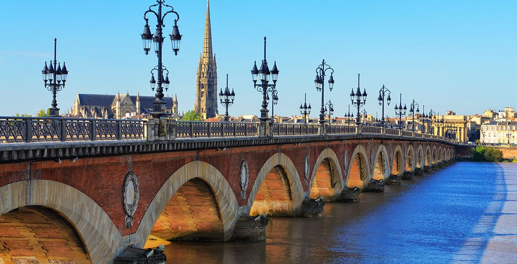 Paysage de Bordeaux en Normandie