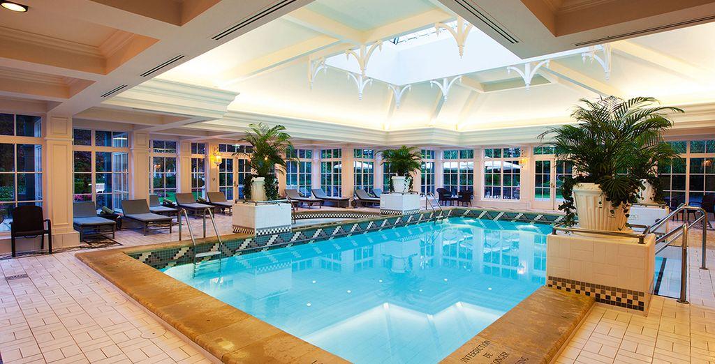 Hôtel de charme à Disneyland Paris, avec piscine intérieure et espace détente