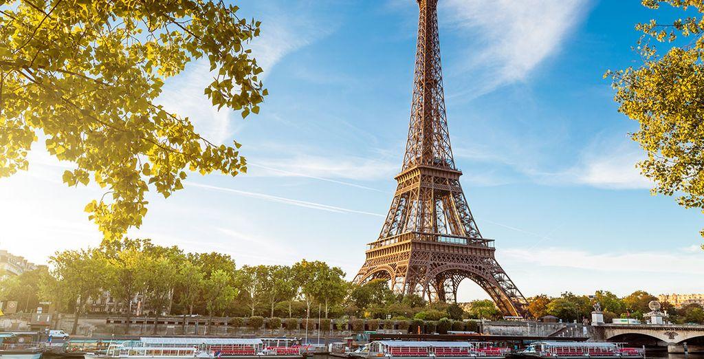 Photographie de la Tour Eiffel à Paris