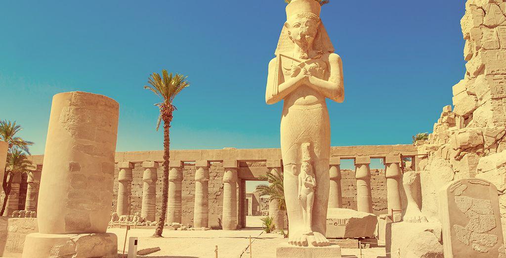 La civilisations égyptienne et ses majestueux vestiges découvert lors d'une croisière