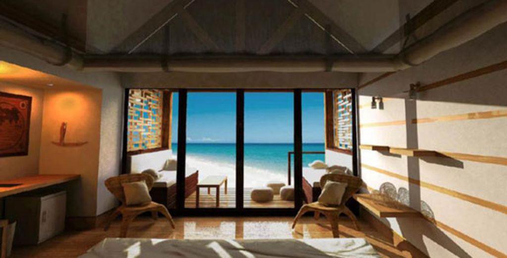 La vue depuis une villa - Constance Lodge Tsarabanjina ***** Nosy Be