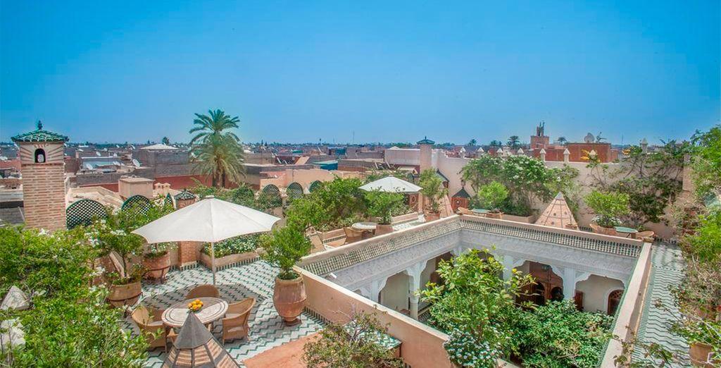 Photographie de la Médina de Marrakech
