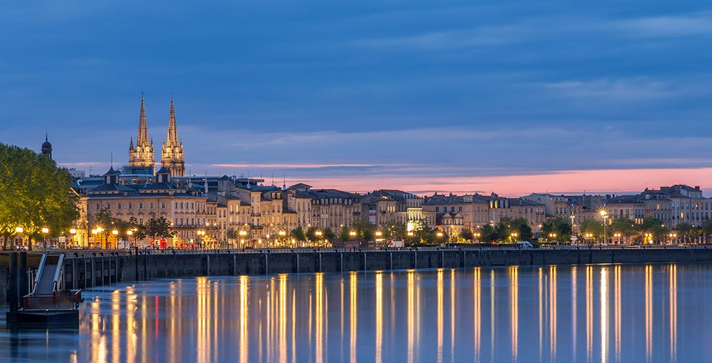 Photographie de Bordeaux et de ses quartiers historiques