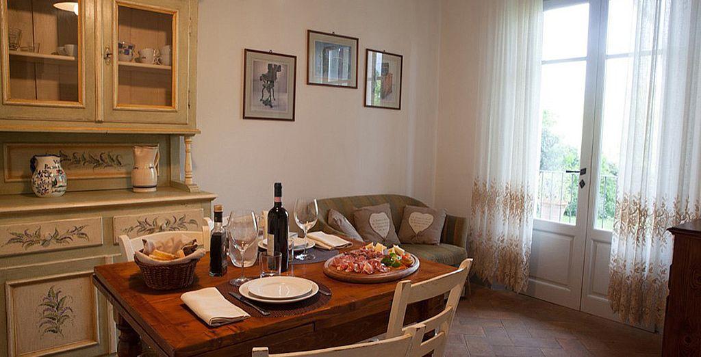 Et découvrez-y votre appartement à la décoration cosy