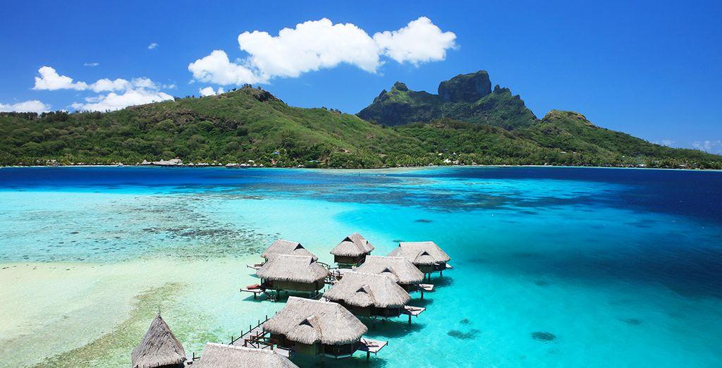 Combiné Sofitel Tahiti Ia Ora Beach 4*, Sofitel Morea Ia Ora 5* et Sofitel Private Island 5*