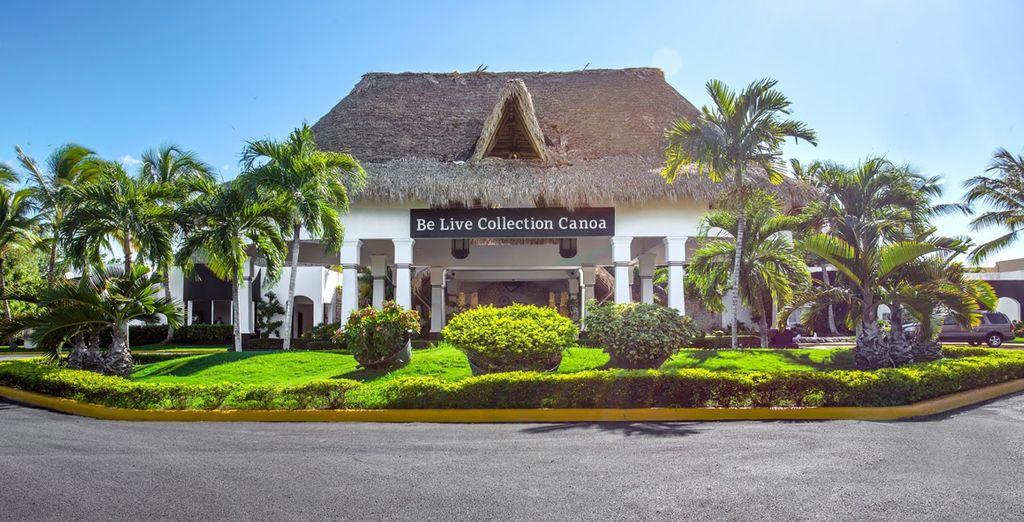 L'hôtel Be Live Canoa 5* vous accueille...