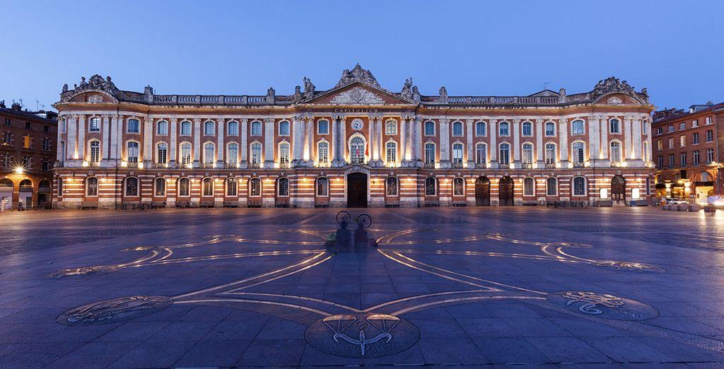 Découvrez le quartier du Capitole à Toulouse
