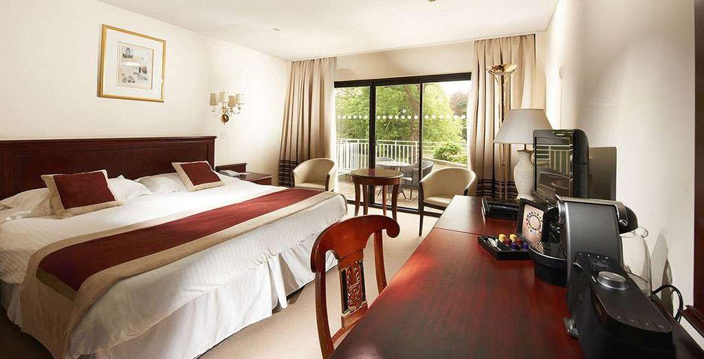 Prenez du temps sur la terrasse ou le balcon privé de votre chambre Exécutive