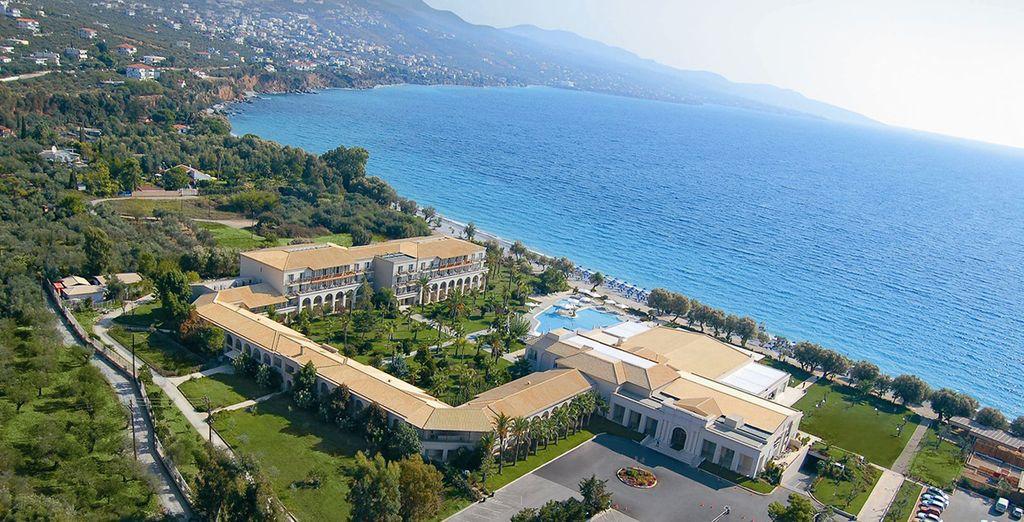 Profitez de l'environnement incroyable de l'hôtel Filoxenia Kalamata 4*